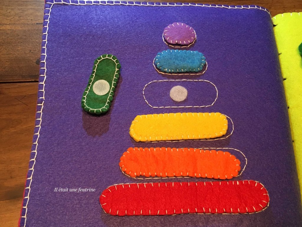 Mon Livre Sensoriel Montessori Il Etait Une Feutrine